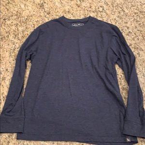 Men's  Eddie Bauer long sleeve shirt. Like new